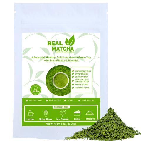 Matcha Green Tea 30gm Pouch